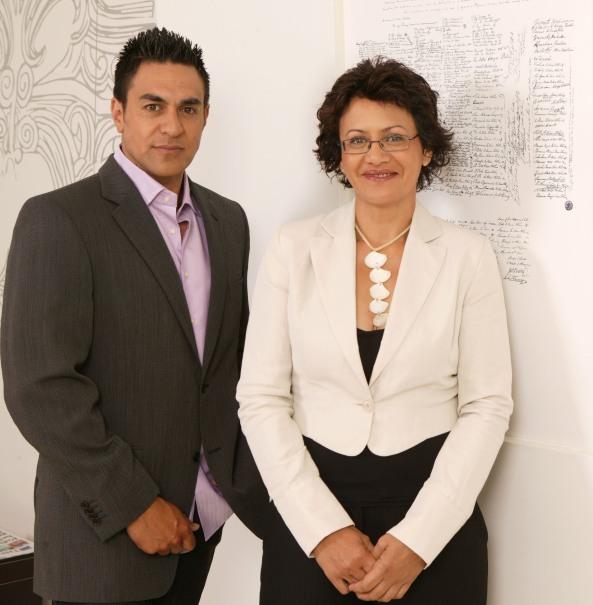 Julian Wilcox & Wena Harawira