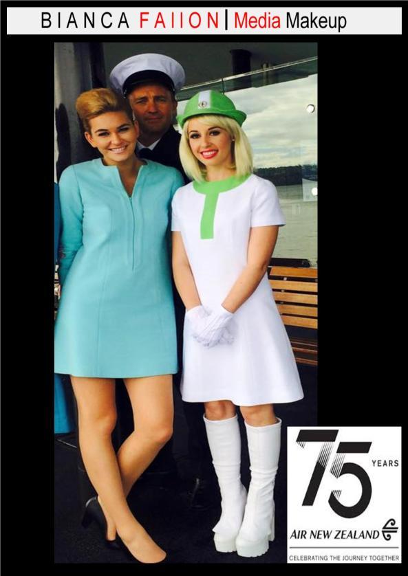Air N.Z. 75th Anniversary mile high fashion show