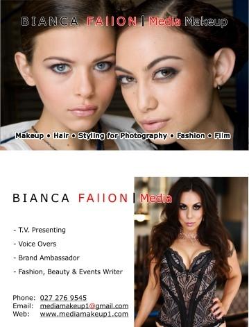 Freelance Makeup Artist on Contact B   Bianca Fallon Media Makeup Freelance Hair   Makeup Artist