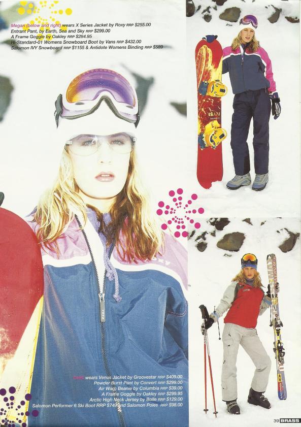 Brass Magazine fashion spread