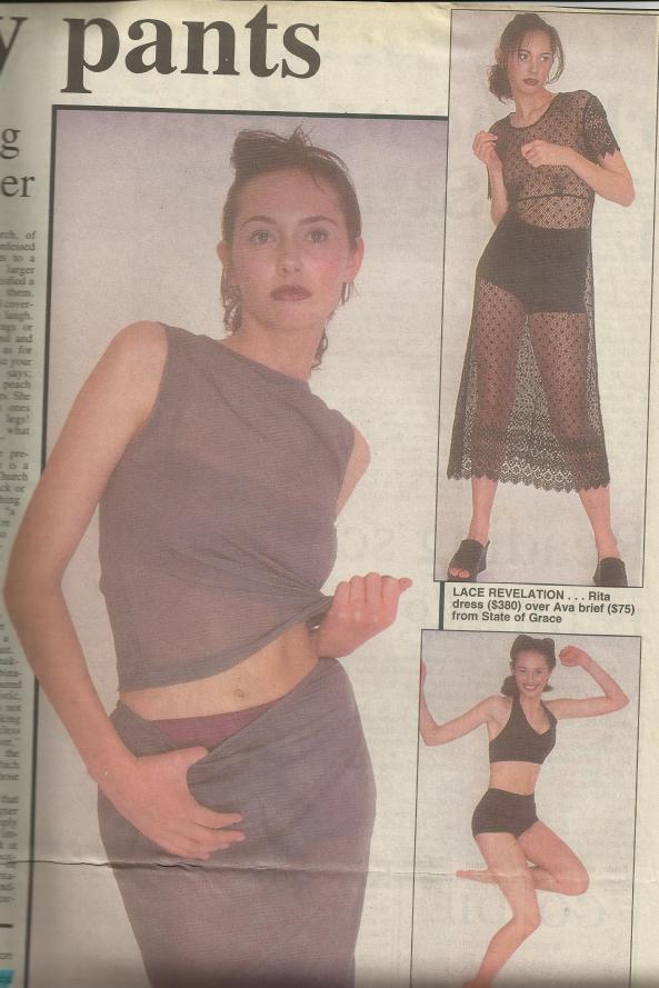Sunday Star Times fashion spread