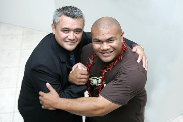Maori Television CEO Jim & David Tua Live Boxing Coverage