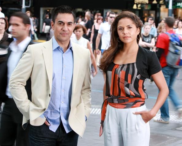 Julian Wilcox & Miriama Smith