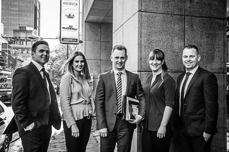 The Ray White Auckland C.B.D. Team corporate photoshoot.