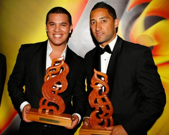 Maori Sports Awards Benji Marshall & Stan Walker