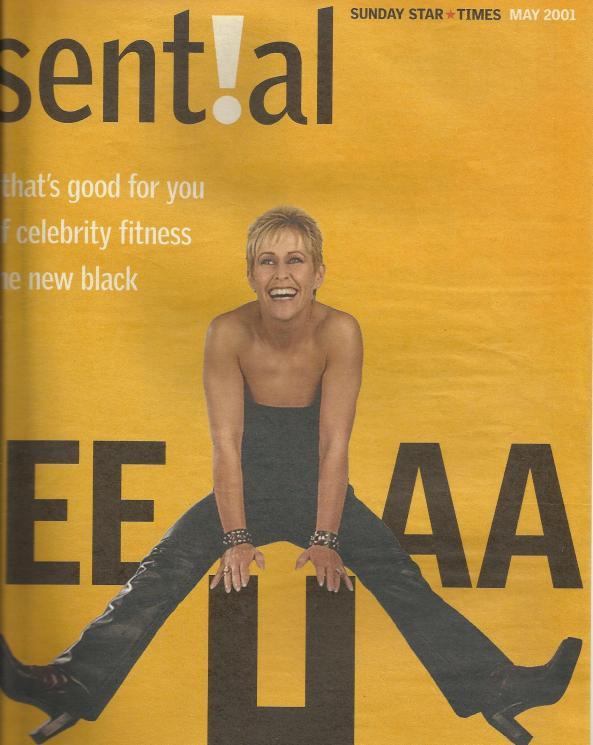 Sunday Star Times cover, Suzanne Prentice