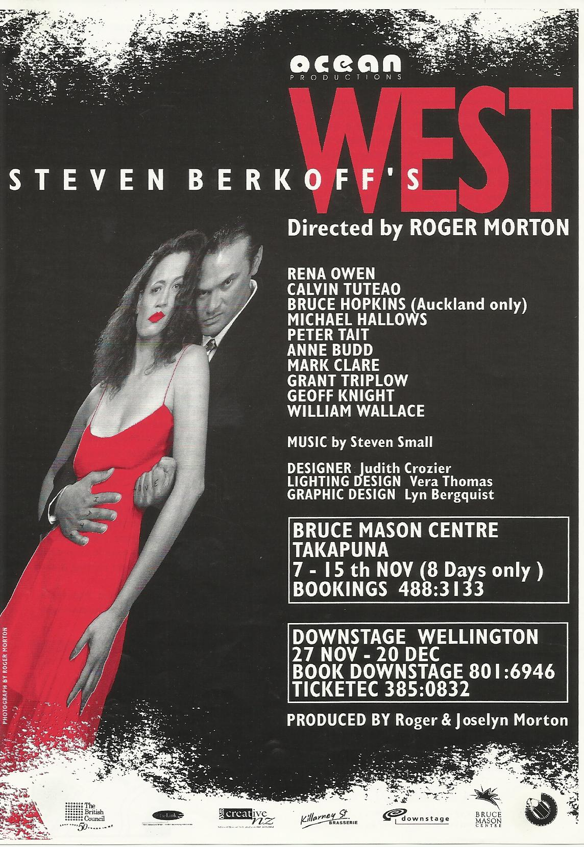 Stephan Berkoffs West starring Wena Owen