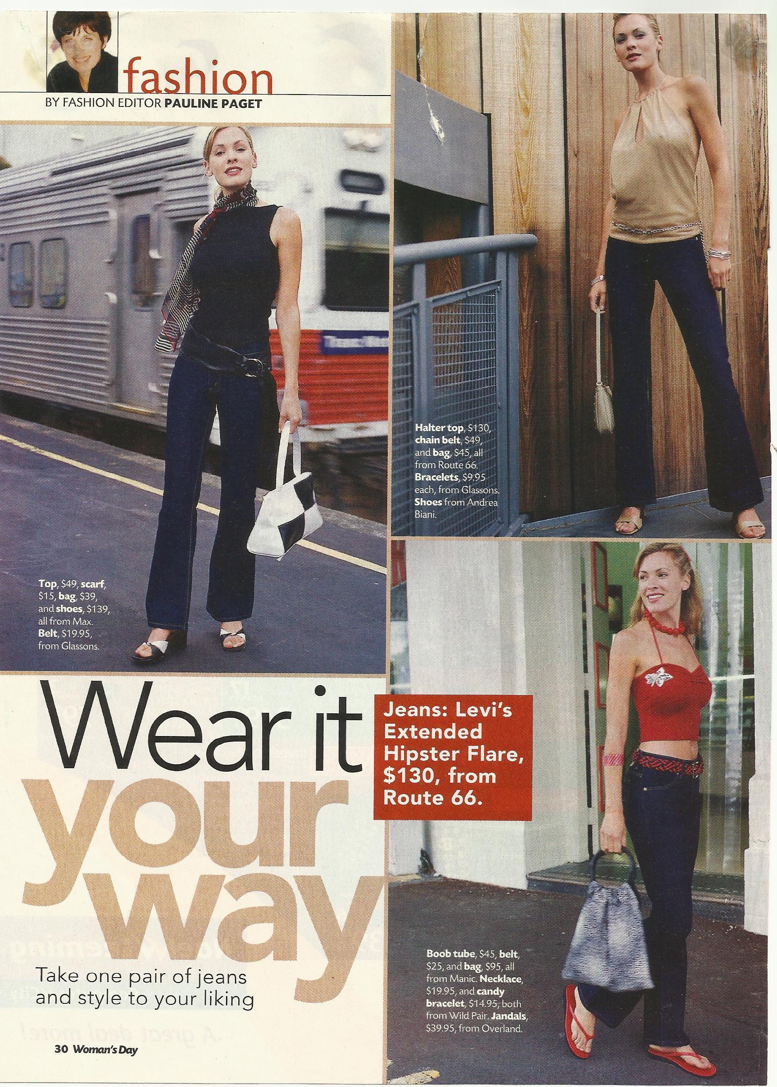 Women's Day fashion spread