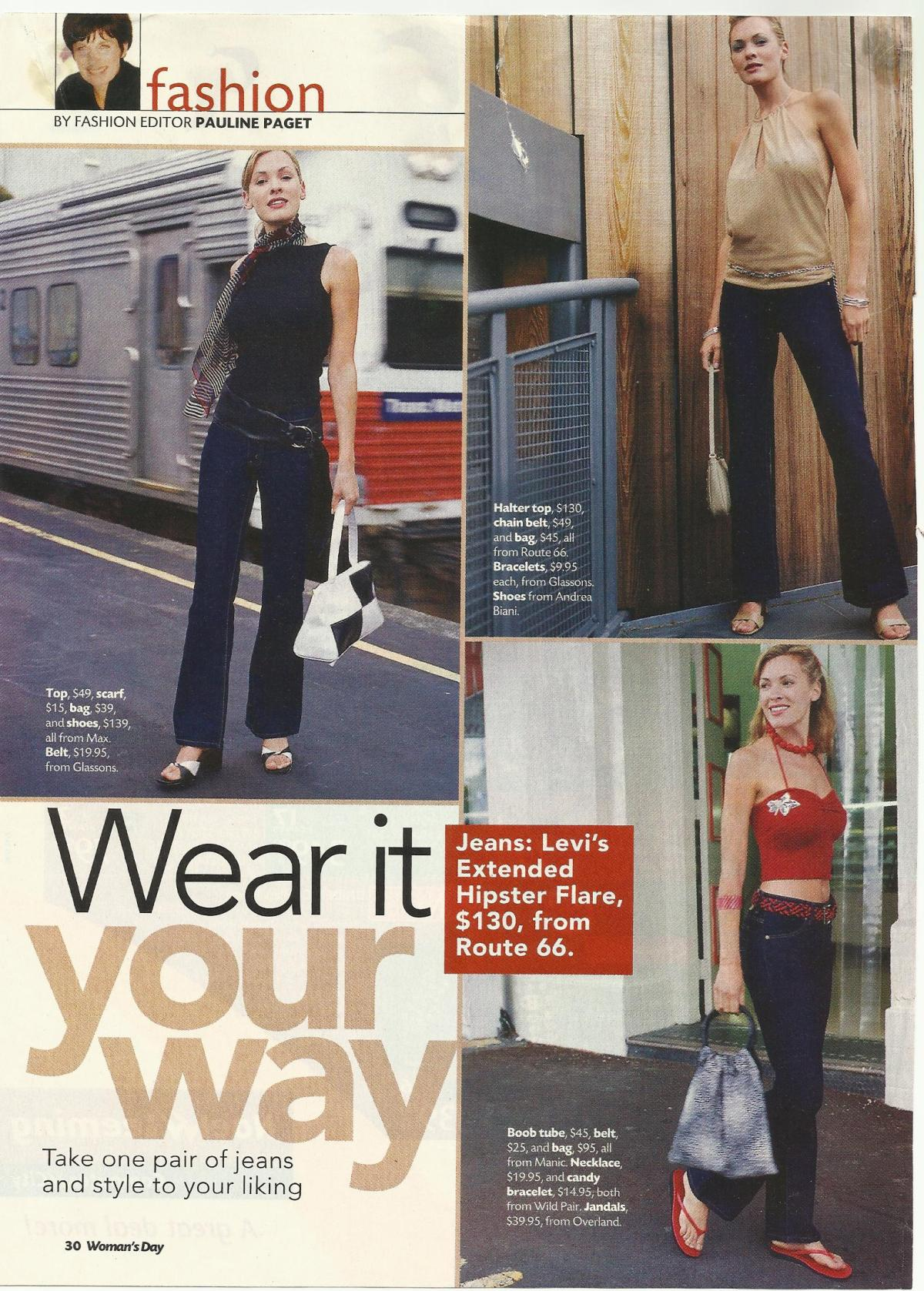 Women's Day fashion spread