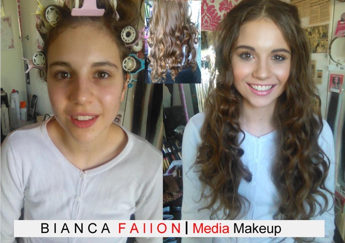 Ball Hair & Makeup