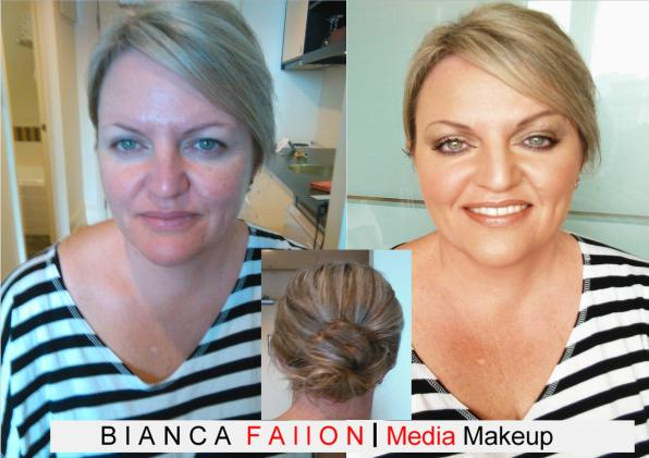 Amanda's Bridesmaid Hair & Makeup