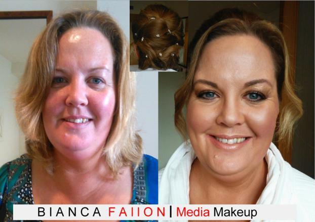 Amanda Bridal Hairup & Makeup